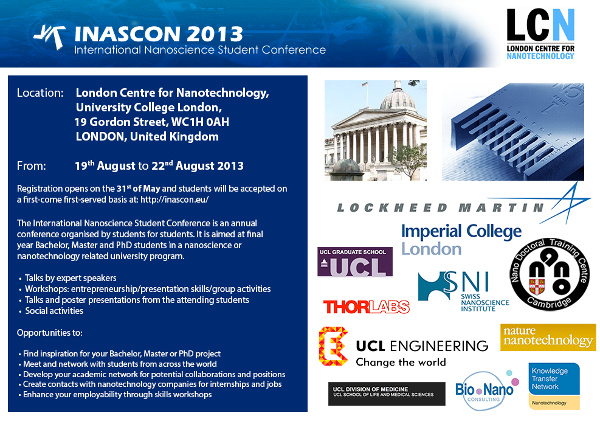 The 7th INASCON (International Nanoscience Student Conference)